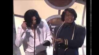 Michael Jackson entrega premio a su Idolo James Brown sub. Español
