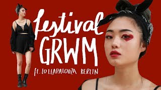 Get Ready With Me for Lollapalooza Berlin (+Giveaway)