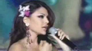 haifa wehbi and cheb mami sing for national egyptian team.wmv