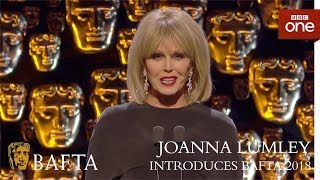 The FABULOUS Joanna Lumley introduces the BAFTAs - The British Academy Film Awards: 2018 - BBC One