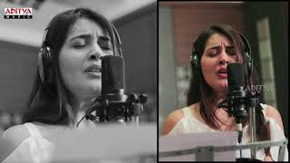 Raashi Khanna Singing Thariraa Song || Making Video || Balakrishnudu Songs || Mani Sharma