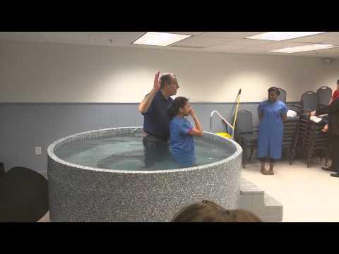 Khatrina's baptism