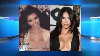 kim kardashians boob trick