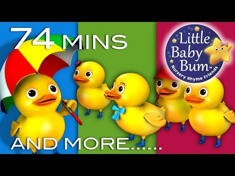 Five Little Ducks Plus Lots More Children s Songs 74 Minutes Compilation from LittleBabyBum