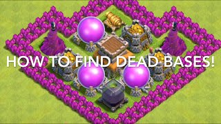 How To Find Dead Bases Every Time In Clash Of Clans! So Helpful! Let's Go Farming!