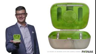 Phonak's latest rechargeable hearing aid – The Audéo B-R