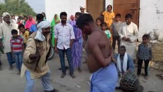 Some stunt by Gorakh Sharma in faruhai!!