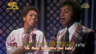 Johnny Mathis & Deniece Williams - Too Much Too Little Too Late