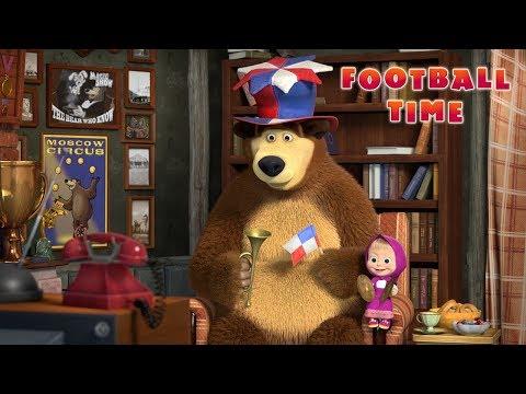 Xxx Mp4 Masha And The Bear ⚽ Football Time 📺 3gp Sex