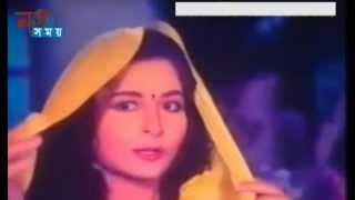 Tomay Niya Badhbo Valobasher Ghor | Bangla Movie Song |  By Poppy & Amit Hasan