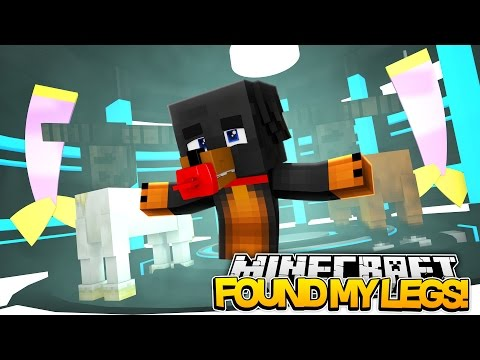 BABY MAX GETS NEW LEGS Minecraft Little Baby Max