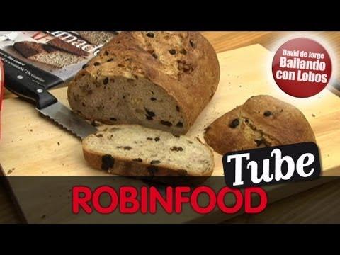ROBINFOOD Pan de trigo centeno pasas y nueces