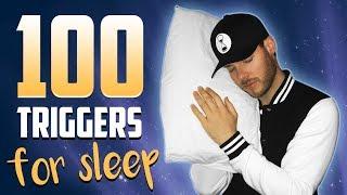 100 Mighty ASMR Triggers for Sleep