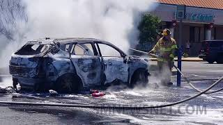 Two Injured in Vehicle Fire at Wildewood Shopping Center (1)