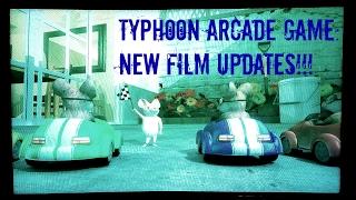 Typhoon Arcade Game NEW FILM UPDATES!! Rat Race & Snow Ride Film Adventures Arcade Ride