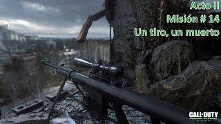 Call of Duty: Modern Warfare Remastered | UN TIRO, UN MUERTO | Campaña | PC | Español