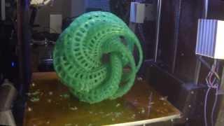 Math Art 3D Print Timelapse