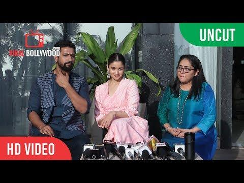 Xxx Mp4 UNCUT Chit Chat With Team Raazi Alia Bhatt Vicky Kaushal Meghna Gulzar 3gp Sex