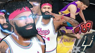 LONZO BALL DUNKS ON ME! PLAYOFFS GET NASTY! Final HOF Badge Unlocked! NBA 2k18 MyCAREER Ep. 89
