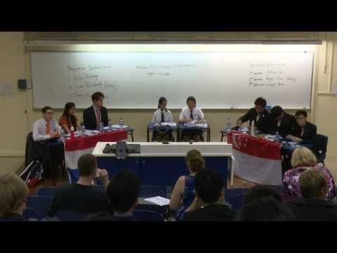 WSDC2015 Rd 7 (Part 1) (Debate at 23 minutes mark) Netherlands vs Singapore
