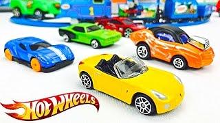 Carros Hot Wheels para Niños - Coches de Carrera - Videos Infantiles