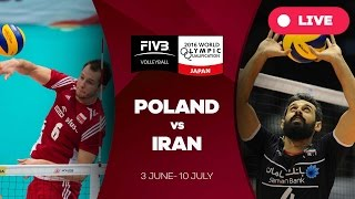 Poland v Iran - 2016 Men