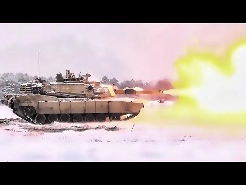 U.S. M1A2 Tanks Test Accuracy • Live-Fire In Poland