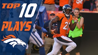 Broncos Top 10 Plays of the 2016 Season | NFL Highlights