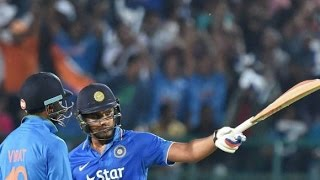 Rohit Sharma 1st century in T20 106 of 66 balls vs South Africa 1st t20 Paytm Trophy