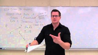 Calculus 3 Lecture 11.1:  An Introduction to Vectors