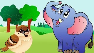 The Royal Elephant | Sparrow & The Elephant – Fairy Tales