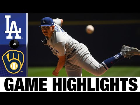 Dodgers vs. Brewers Game Highlights 5 2 21 MLB Highlights