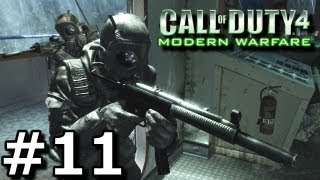 Call of Duty 4: Modern Warfare - Walkthrough - Part 11 [Mission 11: All Ghillied Up] (Commentary)