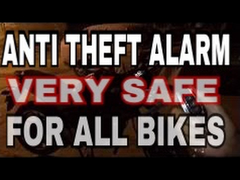 Hru anti theft alarm   Security system   HONDA HORNET 160R    FOR ALL BIKES