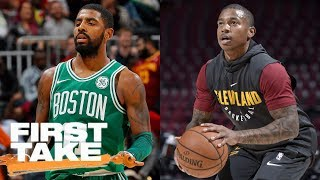 Stephen A. Smith: Cavs don't regret losing Kyrie Irving, Isaiah Thomas is answer | First Take | ESPN