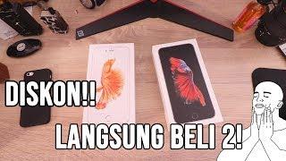 MUMPUNG MURAH!! SIKAT 2 IPHONE 6S+ RESMI!!