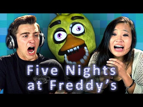 FIVE NIGHTS AT FREDDY S Teens React Gaming