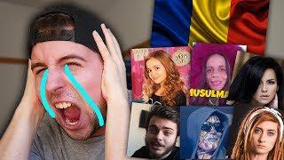 REACTING TO ROMANIAN MUSIC 5 (ft. Claudia Catarig, Iuliana Beregoi, BAZOOKA, INNA, Bianca Adam)