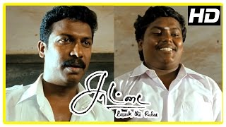 Saattai Tamil movie scenes | Students give their names for Cultural meet | Yuvan made the leader
