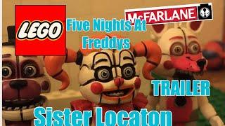 Lego FNaF Sister Location Series Trailer (Mcfarlane)