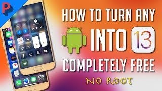 Make ANY Android Look Like iOS 13 (Free, No Root) - Turn ANY Android into iPhone X