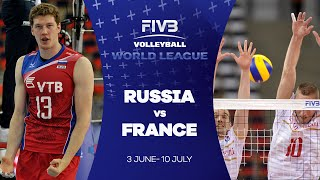 FIVB - World League: Russia v France highlights