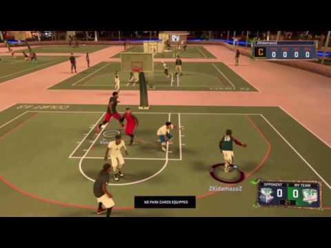 NBA 2k17, My Park highlights