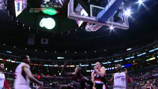 J.J. Hickson MONSTROUS DUNK on DeAndre Jordan (Mar 30, 2012)
