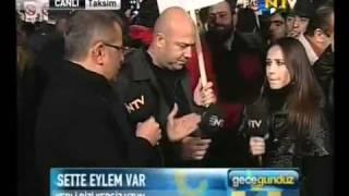 Interview  murat Ylidirim  ve  burcin     yerli dizi yersiz uzun
