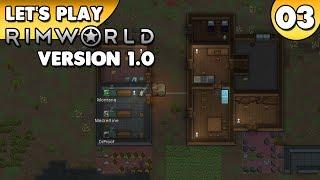 Rimworld 1.0 - Let's Play 👑 #003 [Deutsch/German][Gameplay]