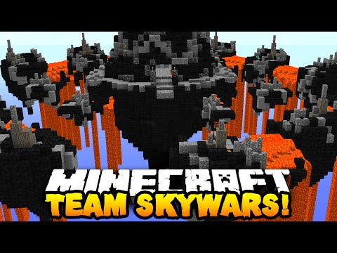Minecraft TEAM SKY WARS #1