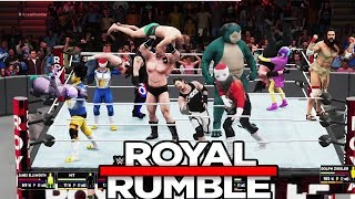 Pendejadas Creadas WWE Royal Rumble 2018 - (Feliz FIN de AÑO)