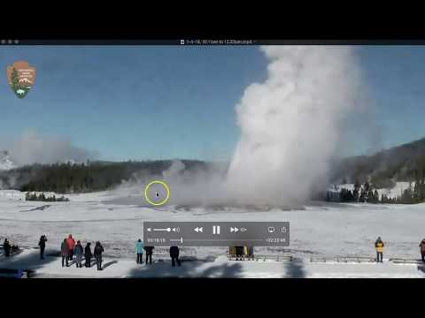 Xxx Mp4 Yellowstone Old Faithful Ground And Or River Is Very Hot After O F Eruption 3gp Sex