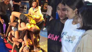 Team Nadine competitive! Nadine at Girltrends nagpatong patong sa It's Showtime - CashYa!